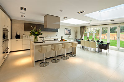 Redstone construction builders in dublin and kildare region for Kitchen ideas dublin